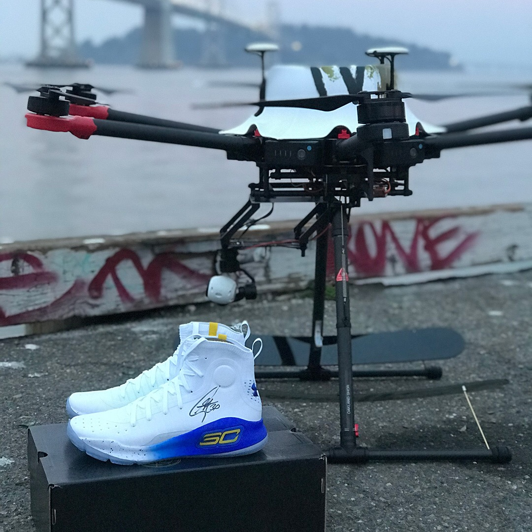 1fd47f27c7e9 Curry 4 Drone Drop - The Shorty Awards