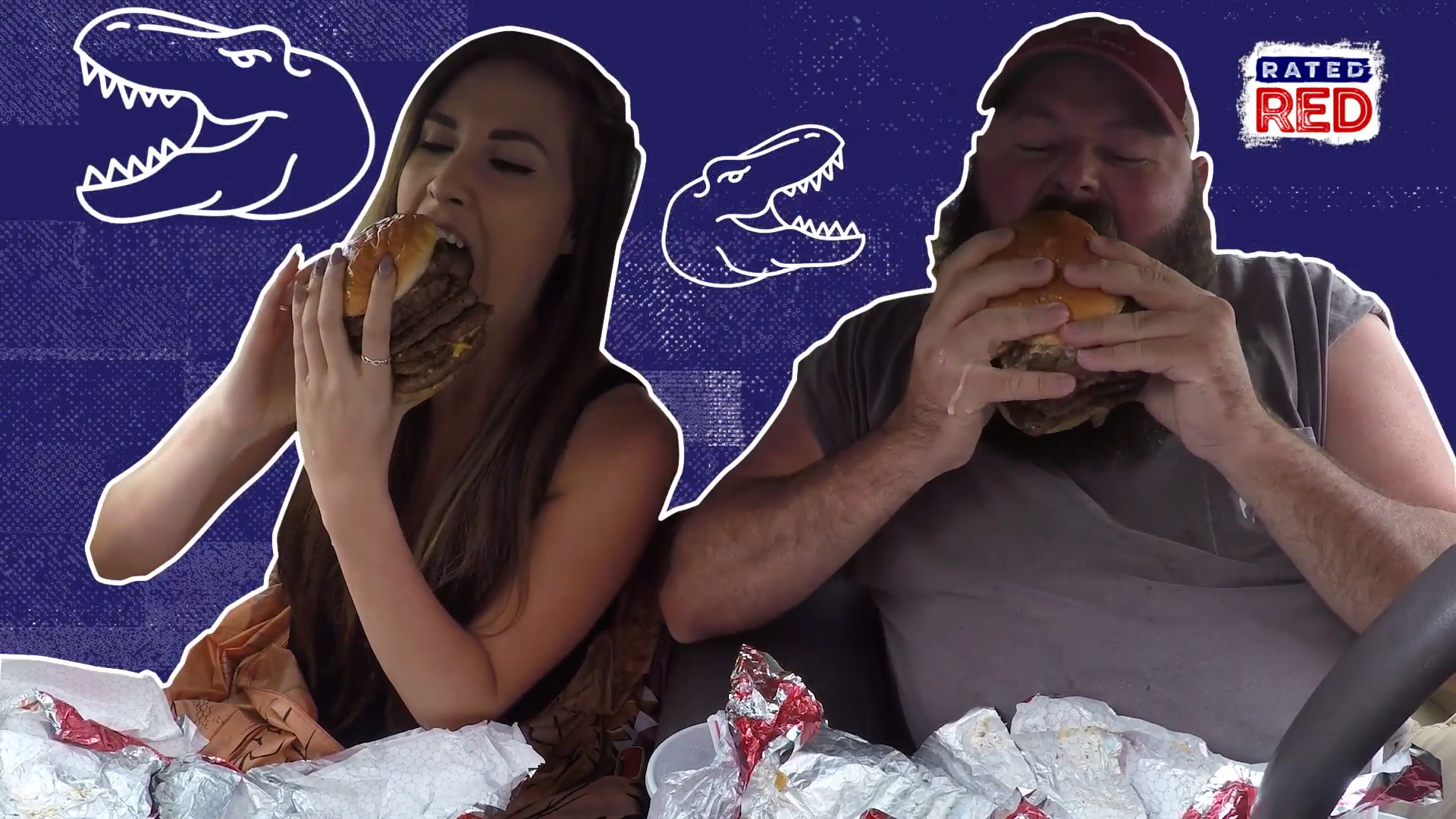 Combonation Wendy S T Rex Burger The Shorty Awards