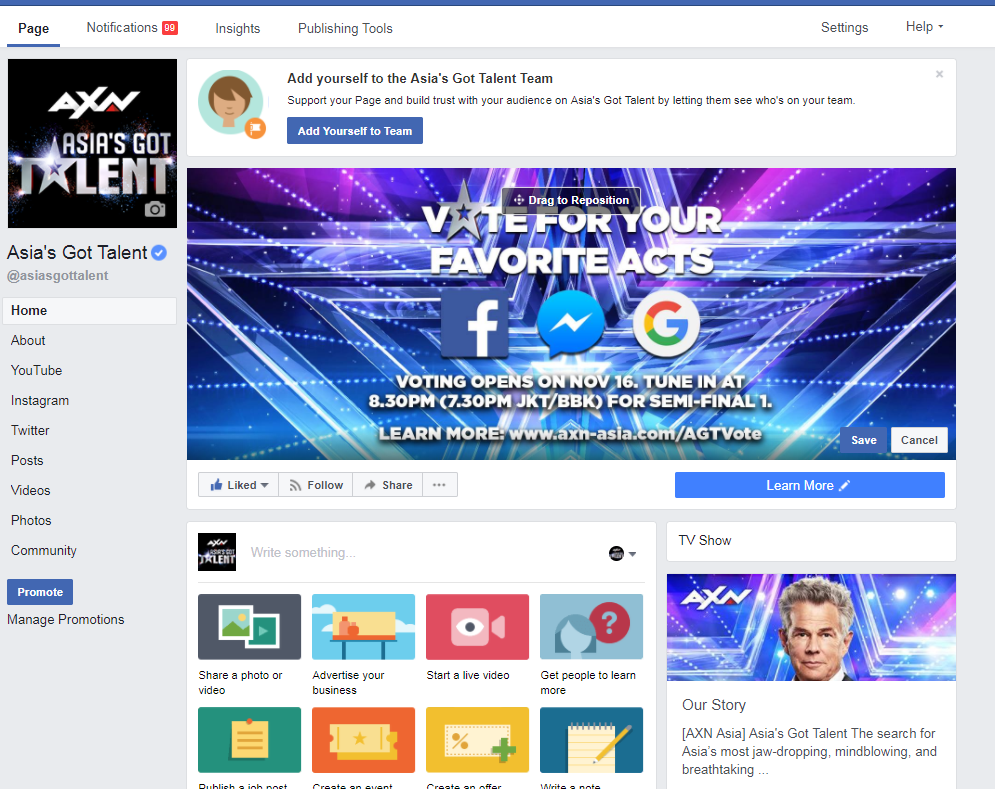 Asia's Got Talent Fan Vote: You Have The Power - The Shorty Awards