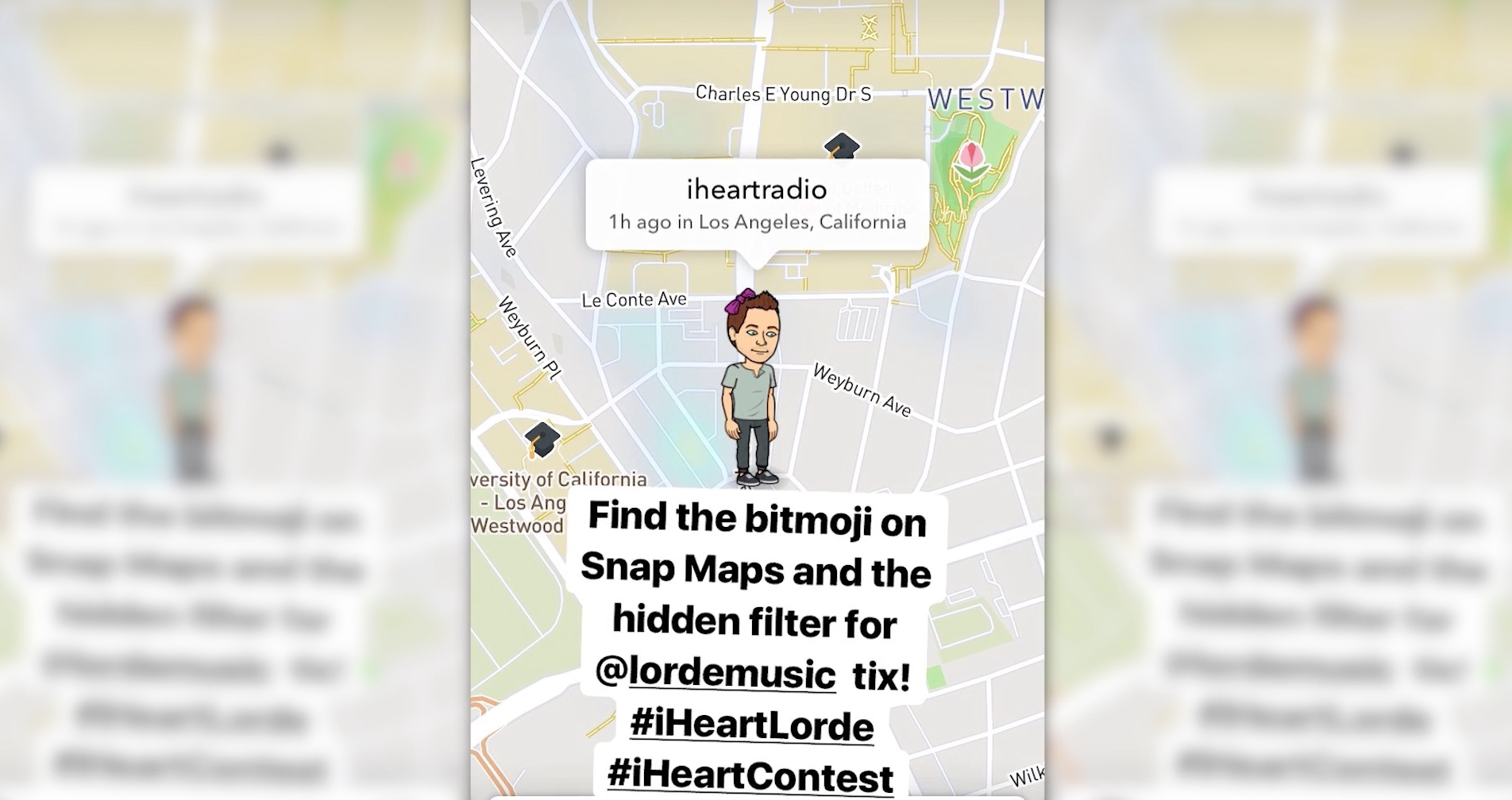 The iHeartRadio Snap Map Scavenger Hunt - The Shorty Awards