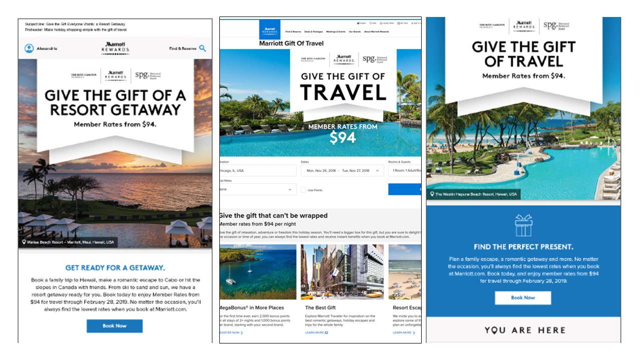 Marriott Americas 2018 Gift of Travel campaign - The Shorty