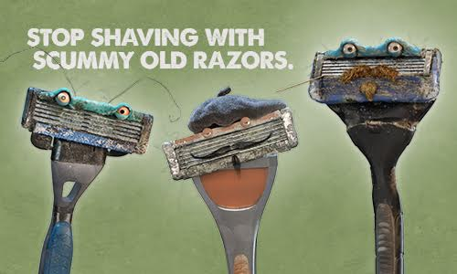 Live The Fresh Blade Shave - The Shorty Awards