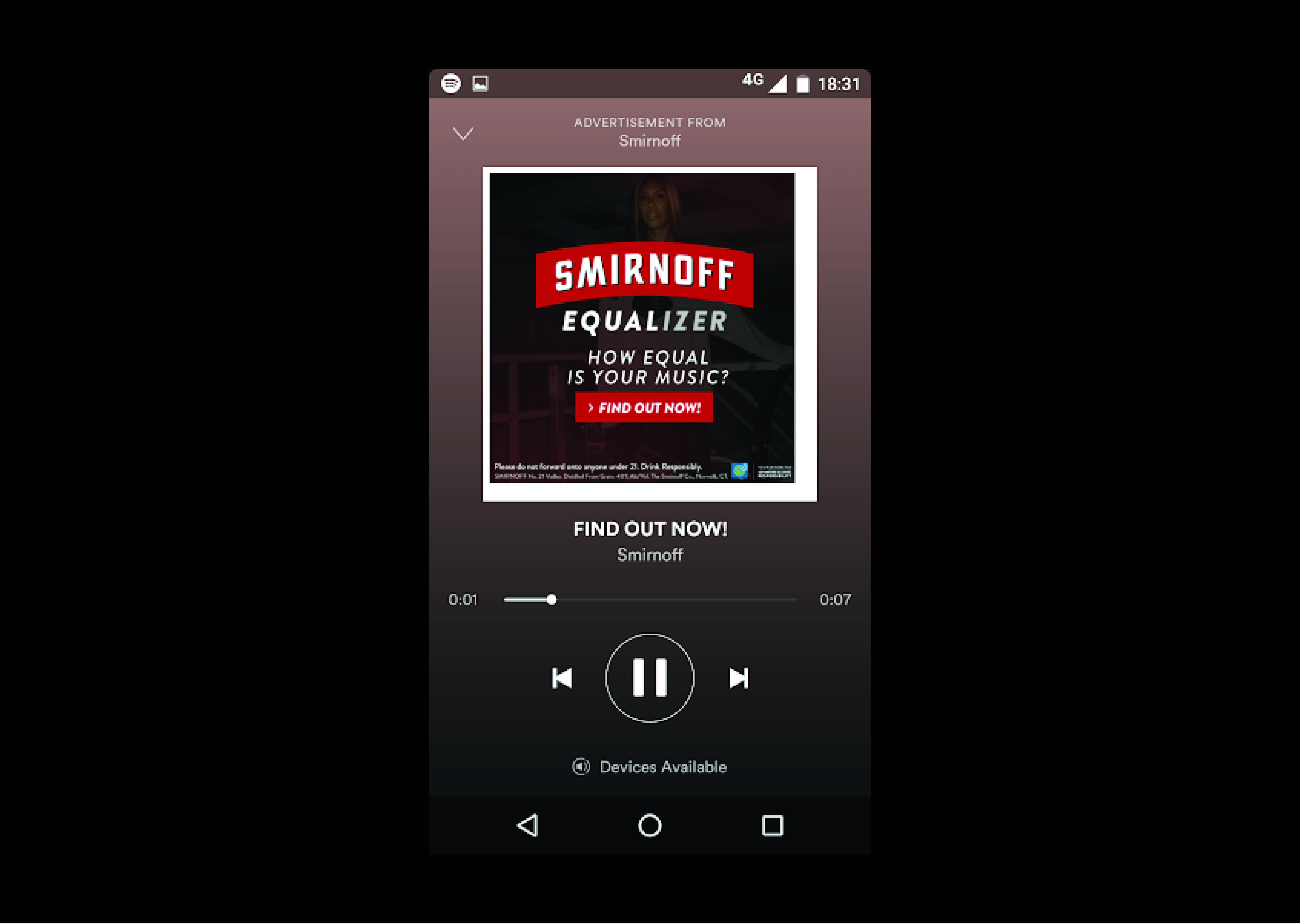 Smirnoff Equalizer - The Shorty Awards