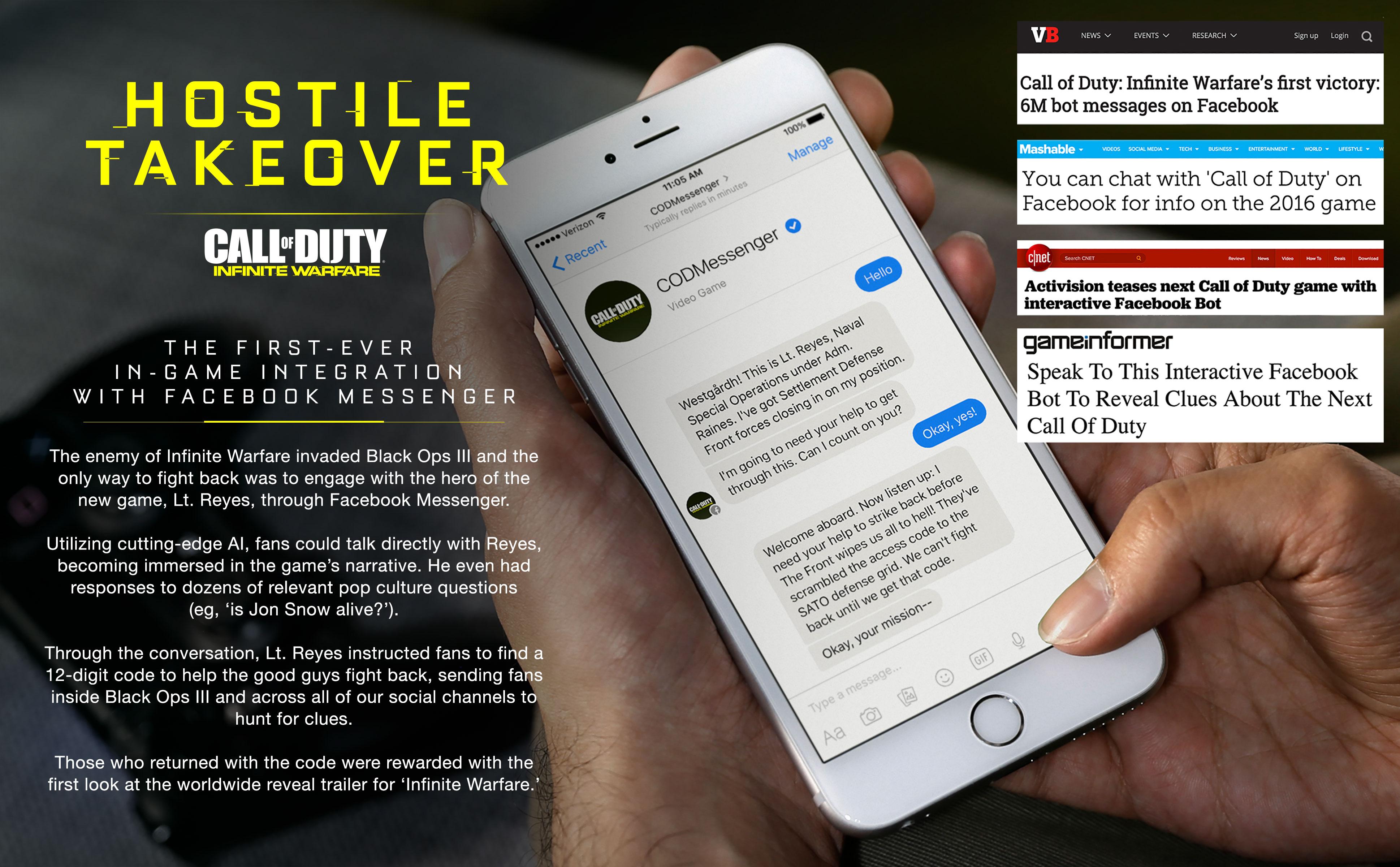 Hostile Takeover - The Shorty Awards
