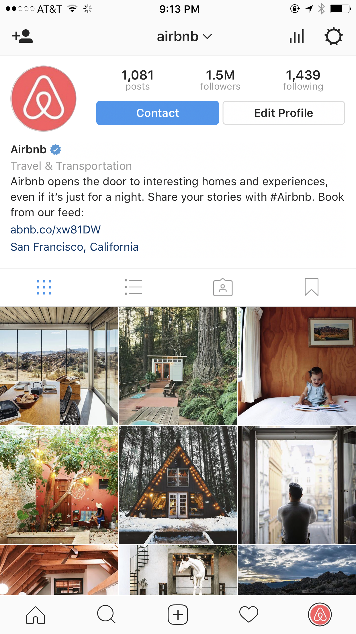 Airbnb on Instagram - The Shorty Awards