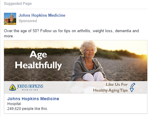 Johns Hopkins Medicine: Healthy Aging - The Shorty Awards